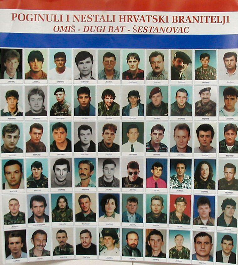poginuli hrvatski branitelji